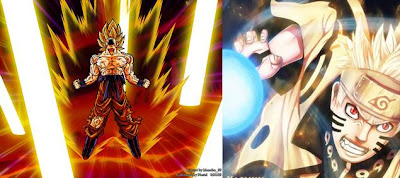 Dragon Ball dan Naruto