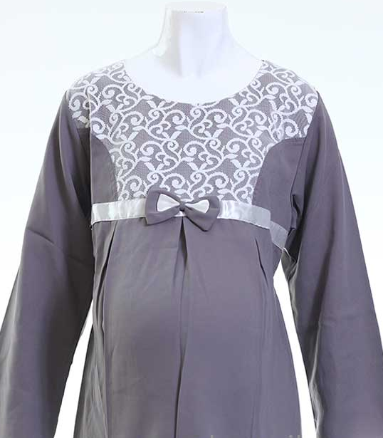 Desain Baju Muslim Ibu Hamil Modern