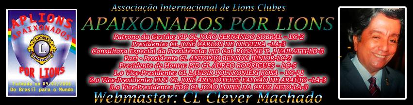 APLIONS - Apaixonados por Lions AL 2013-2014