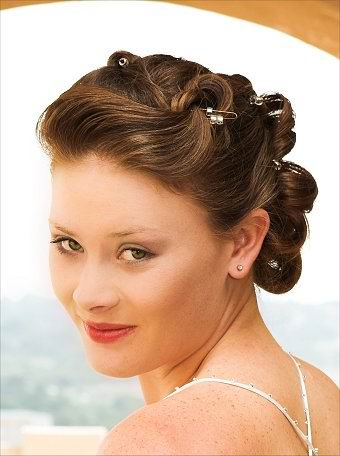 hairstyle wedding. glamorous wedding hairstyles.
