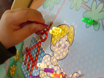 pictures How to Play Litebrite