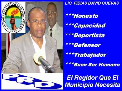 FIDIAS DAVID CUEVAS ''REGIDOR 2016-2020''