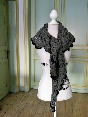 South Bay omslagdoek van Ravelry by julienne-jeannot.blogspot.be