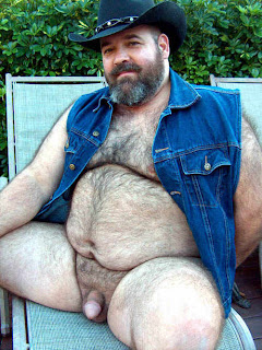 gay bear furry - hairy fat man