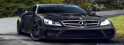 Couverture facebook originale Mercedes Benz