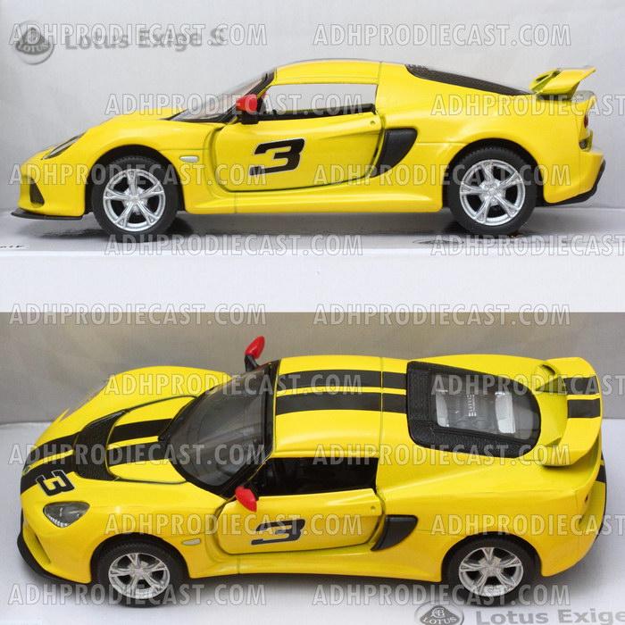 Miniatur Mobil Lotus Exige S Stripe