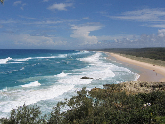 3 Best Surfing Beaches near Broadbeach - Straddie Beach