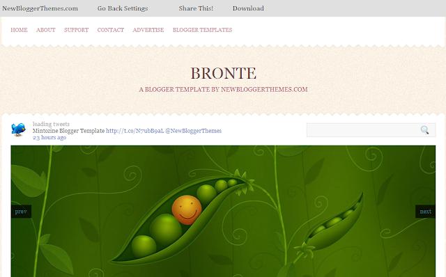 premium Blogger templete