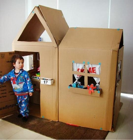 ma maison au naturel: des idées pour fabriquer des jouets en carton