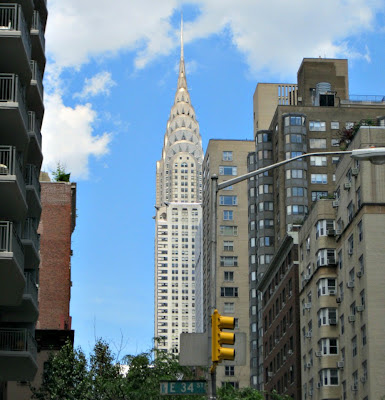 The Chrysler Building, as seen from Lexington Avenue, 6/7/12