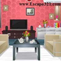 Escape Games 321 Living Room Escape 4