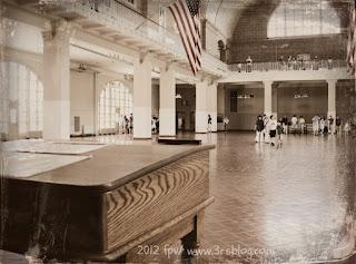 Registry Room, Ellis Island