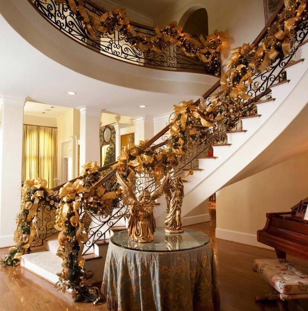 christmas staircase ideas 2015