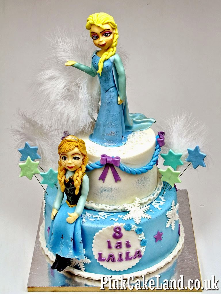 Frozen Birthday Cake, London