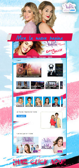 Violetta Official Disney Website