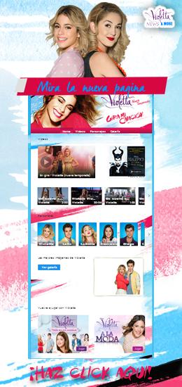 Violetta Official Disney Website