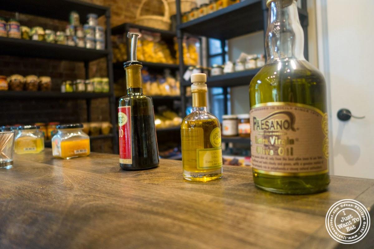 image of tasting at Verde Vita Toscana in Hoboken, NJ