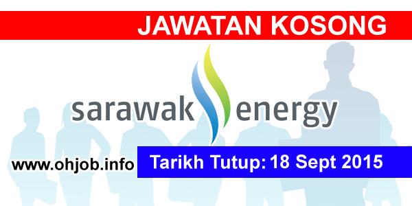Jawatan Kerja Kosong Sarawak Energy logo www.ohjob.info september 2015