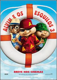 Alvin e os Esquilos 3  TS AVI + RMVB Dublado