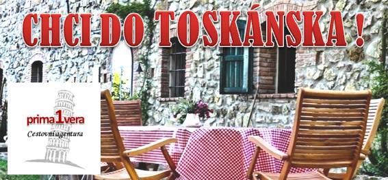 TOSKÁNSKO - Země pohádek a snů