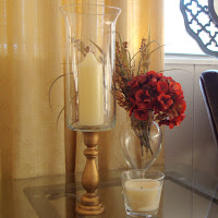 DIY Hurricane Vase