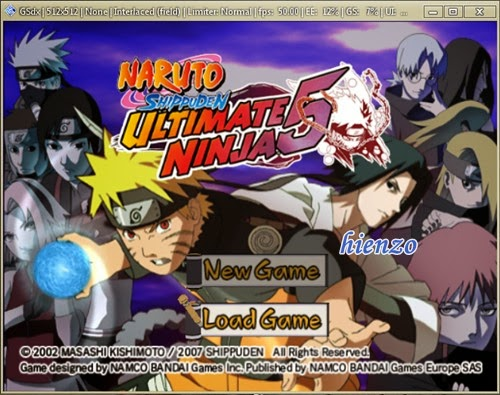 Naruto Shippuden Ultimate Ninja 5 Gameplay