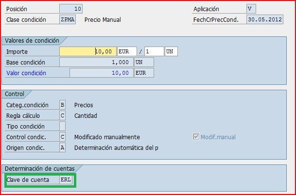Determinación de cuentas en ventas | Blog de SAP
