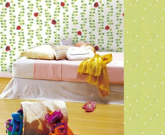 kids bedroom wall design ideas