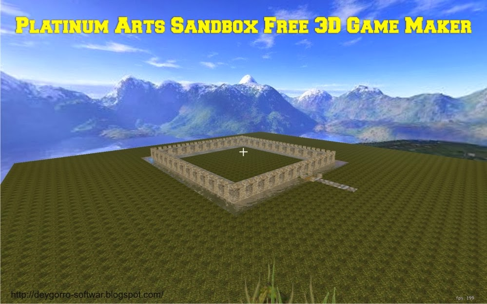 Cara membuat game sendiri dengan platinum arts sandbox for Minecraft 3d blueprint maker