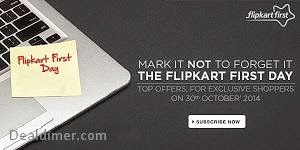 FlipKart First Day Offers - 30th October