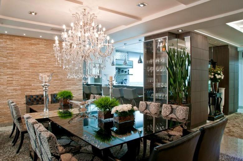 Mesa com aparador embutido em salas de jantar e cozinhas - veja ...