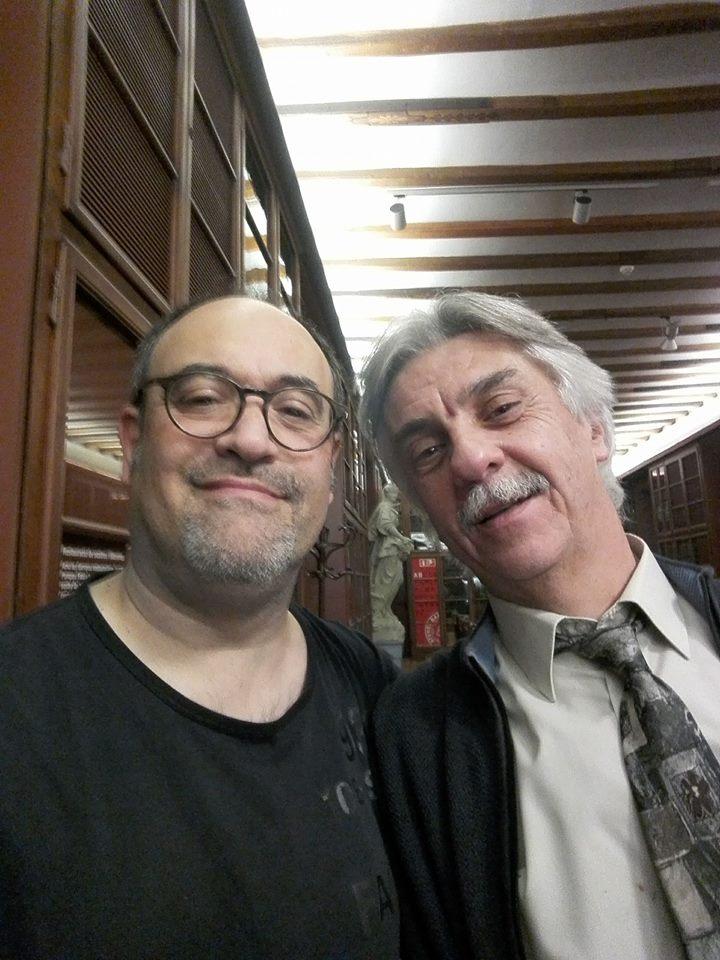 Amb l'Eduard Miró i Saladrigas