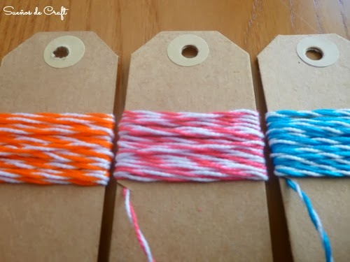 DIY bakers twine