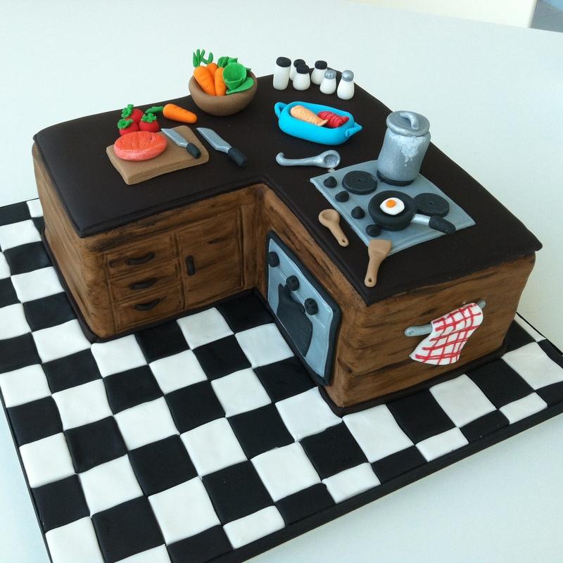 TeaRoom By Bel Jee: A Kitchen Cake