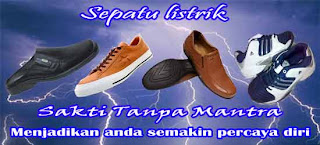 sepatu listrik
