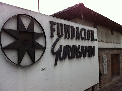 Entrance to the Foundation Guayasamín