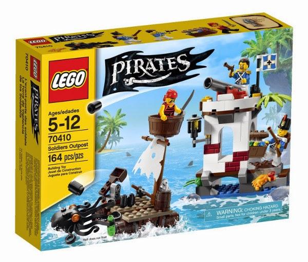 JUGUETES - LEGO Pirates - 70410 La Torre de Vigilancia de los Soldados