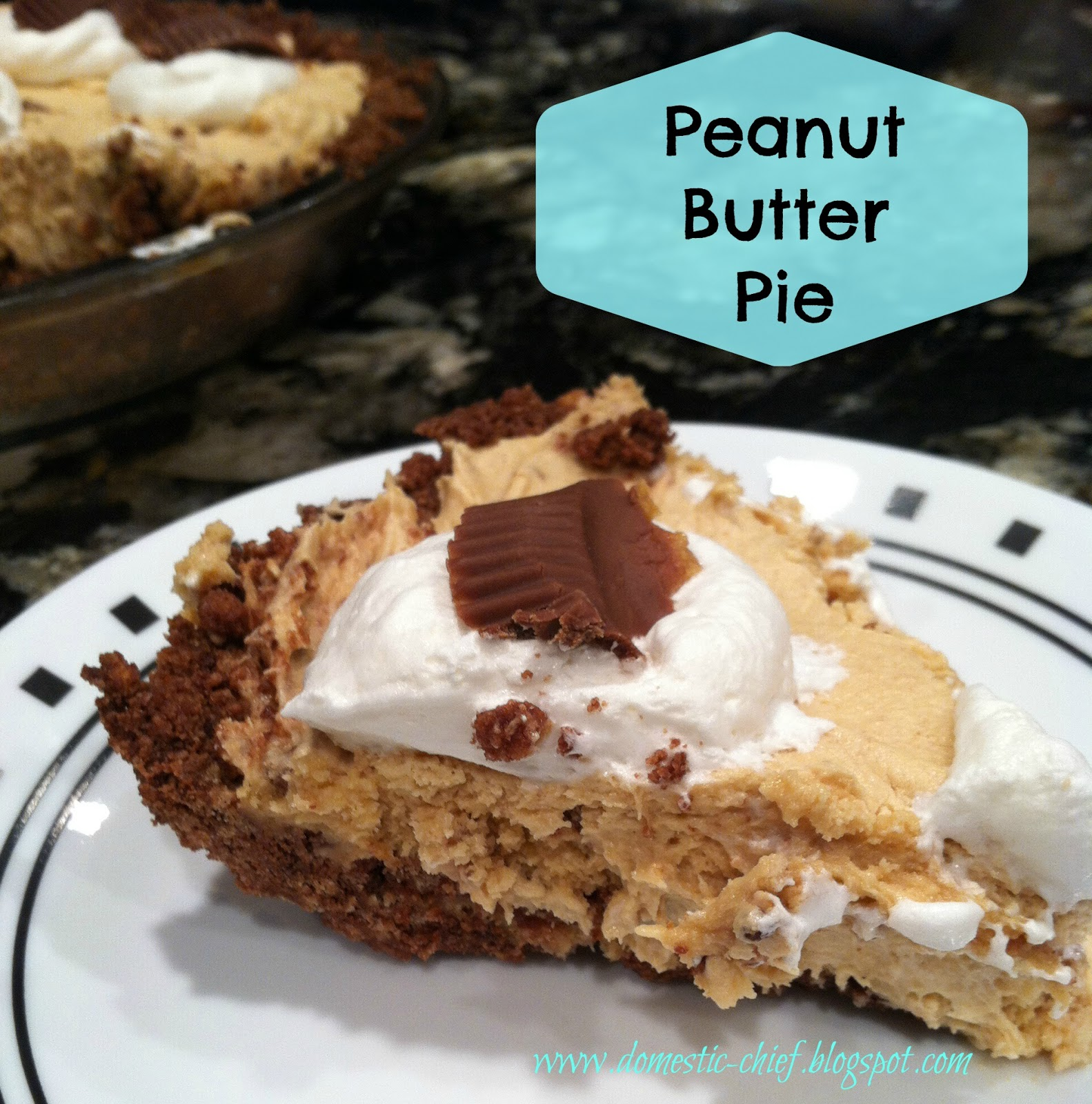 Chief Domestic Officer: Peanut Butter Pie