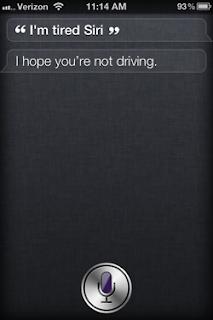Siri: I'm tired Siri.
