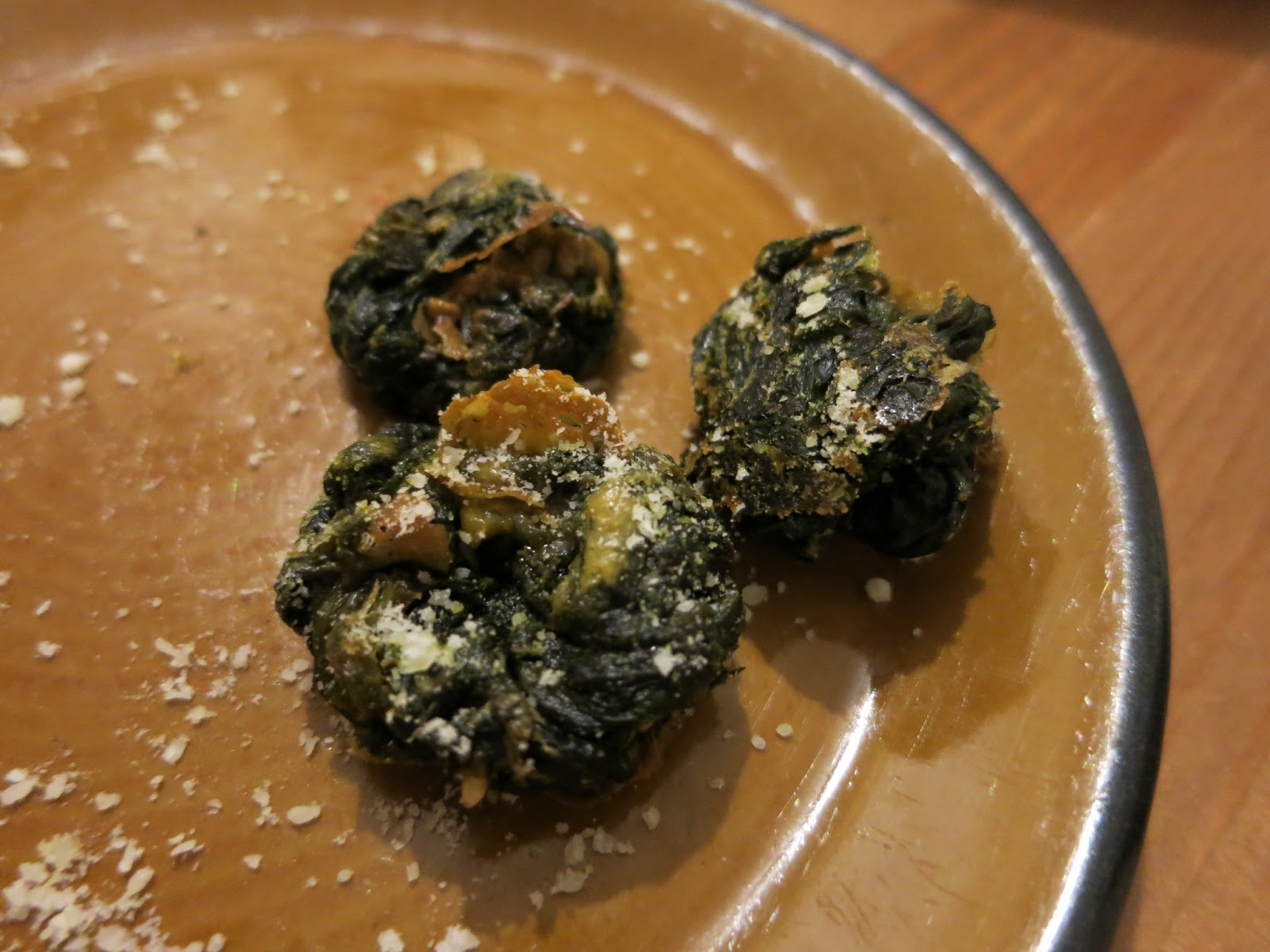 Baked Spinach Cheese Balls