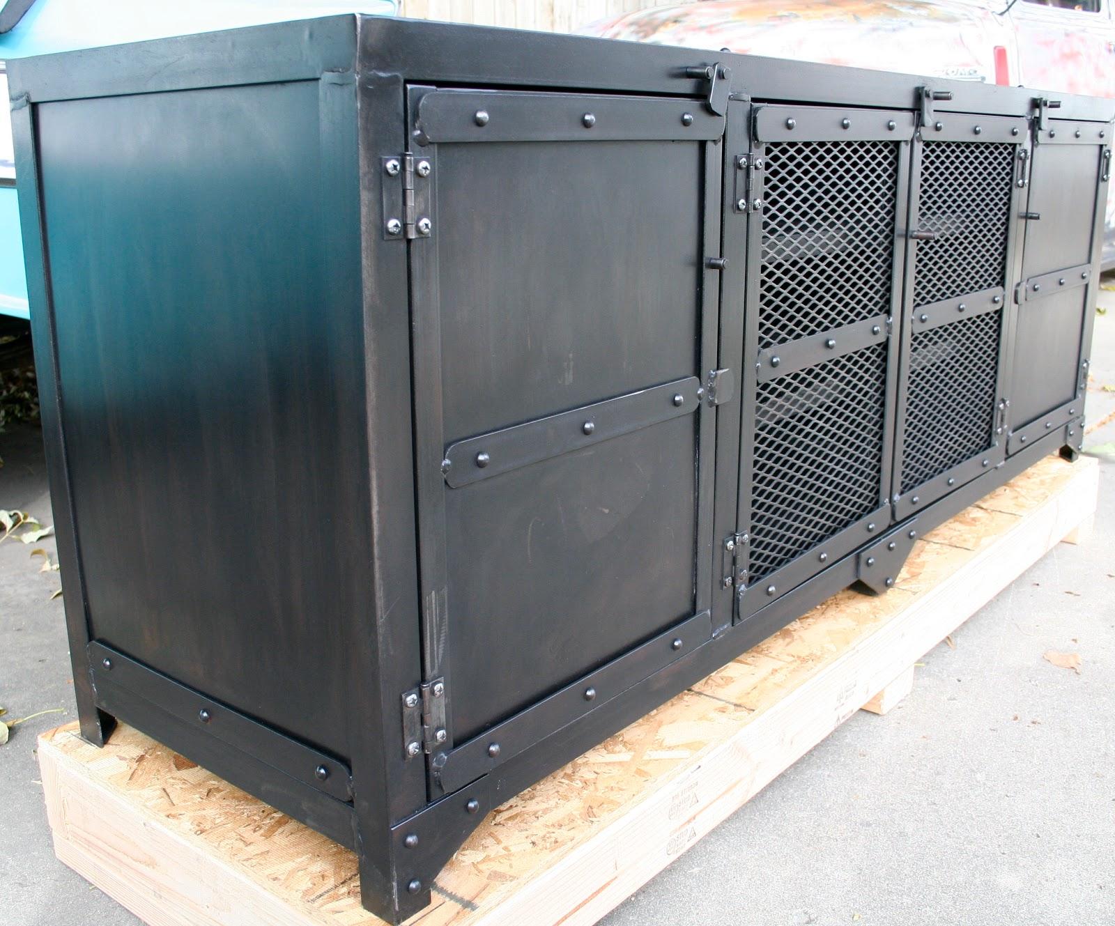 Real Industrial Edge Furniture Llc Industrial Metal Cabinet