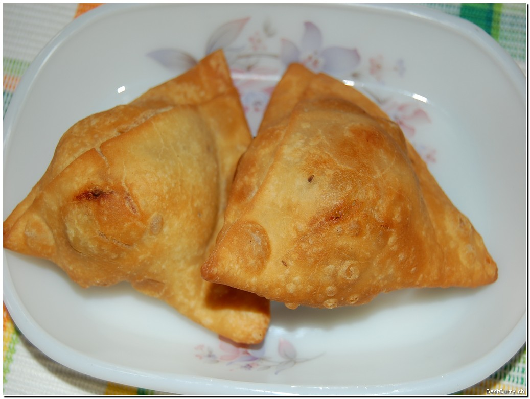 Your samosas are now ready.