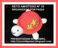 Reto Amistoso Nº 16 organiza Paqui...