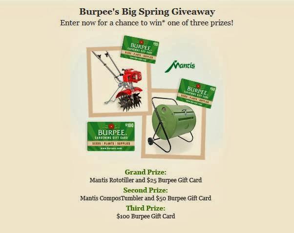 Burpee Giveaway