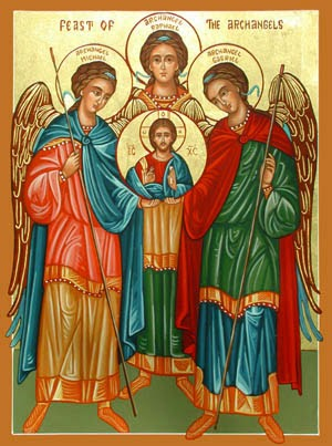 SEPTEMBER 29 - Feast of Saints Michael, Gabriel, and Raphael, Archangels