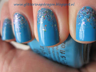 China Glaze Sunday Funday and China Glaze Liquid Crystal