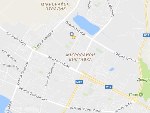 ХПЛ на мапі