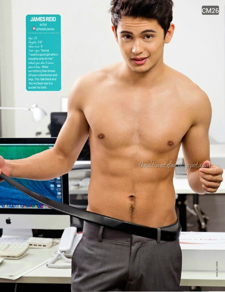 James Reid - Cosmo Centerfolds 2014