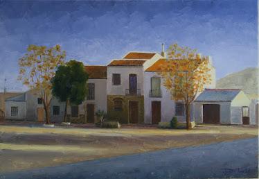 Casas junto a las eras de Garcíez; Torredelcampo, Jaén (10P)