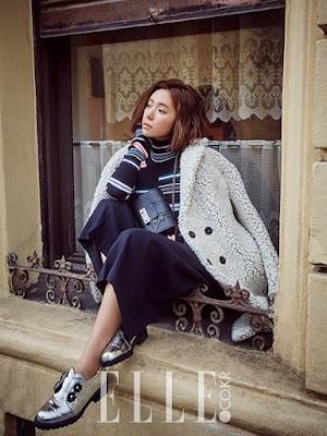 Hwang Jung Eum Elle January 2016